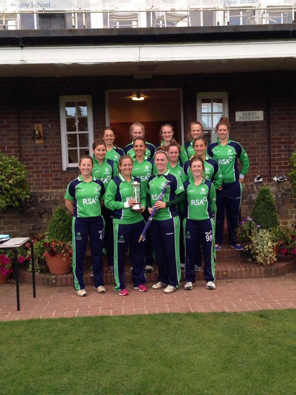 This squad have been outstanding this week. @IrishWomensCric @Irelandcricket should be very proud.