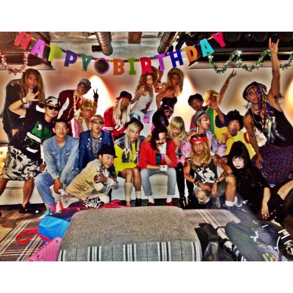 Fun 80s tokyo night! Happy b day @IBGDRGN !! X http://t.co/B2KIDgeNv9