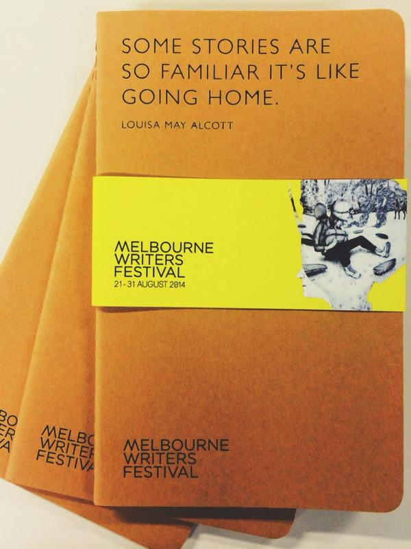 Our friends @Moleskine have created exclusive #MWF14 notebooks! Stay tuned for #EndlessStory14 & your chance to win http://t.co/rUpr7lrDyK