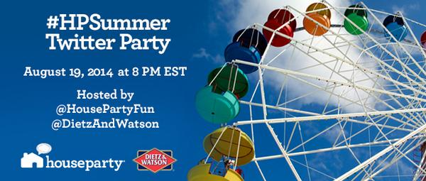 Join our #HPSummer Twitter Party and maybe win some great prizes—including a $500 gift card! http://t.co/dfEuX2oDYE http://t.co/x4JNKTnVeB