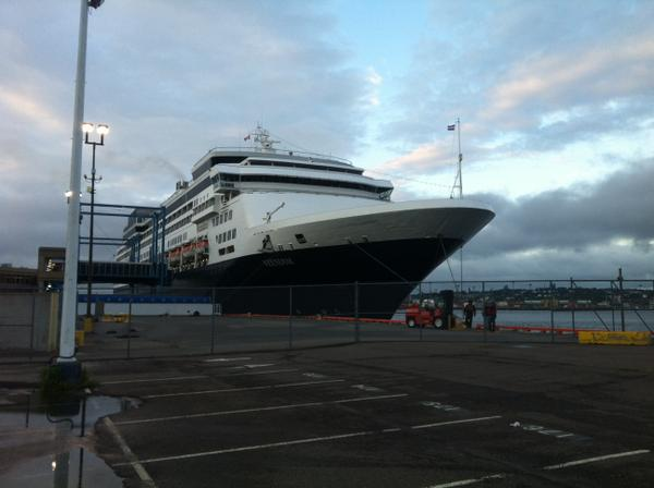 They're here! @uptownsaintjohn @PortSaintJohn @hollandamerica http://t.co/HkekNc0Qp0