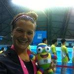RT @nanjing2014yog: C. Smiddy (USA), womens 100m backstroke champion, is doing #yogselfie with #Nanjinglele! @youtholympics http://t.co/BfuBetW7ZK
