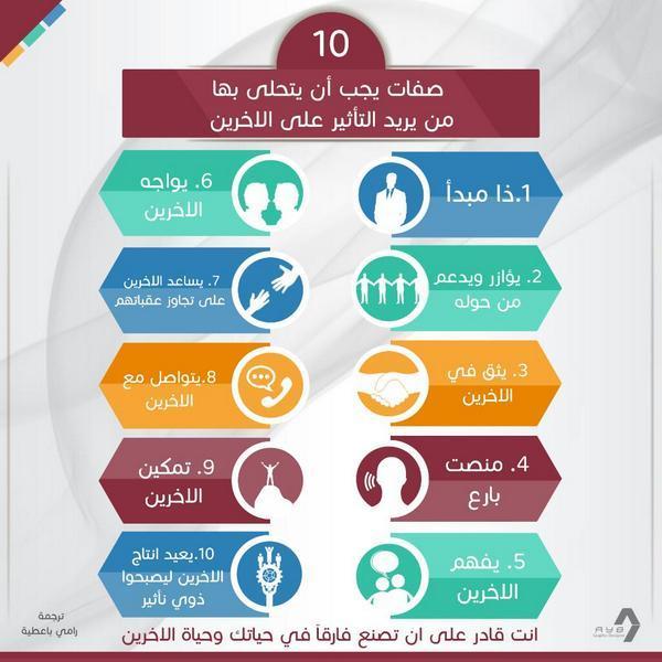 10 صفات لمن يريد أن يترك الأثر في الآخرين http://t.co/7I2vmL0nlB
