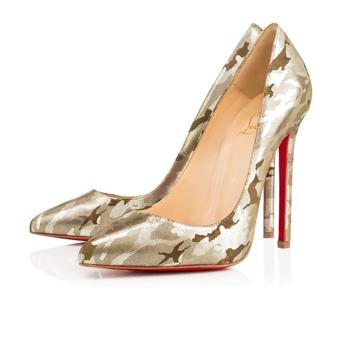 RT @LouboutinWorld: In the camouflage-adorned #Pigalle, you'll do anything but blend in. http://t.co