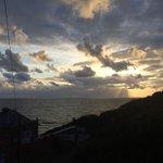 RT @sofiacav: Aberystwyth sky tonight looks like a watercolour painting! #FABERYSTWYTH http://t.co/Hy1pIHJid3
