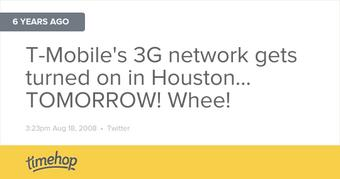 six years ago I was excited about getting 3G network speeds...  http://t.co/sWDnSgMjHz http://t.co/W