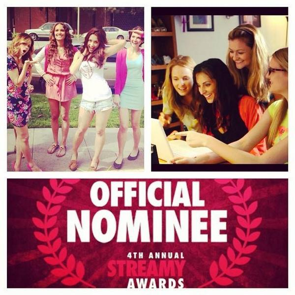 NOM NOM NOM NOM #Streamys #nominee #indieseries #dominate @DestroyTheAGs http://t.co/63x2mJngEn