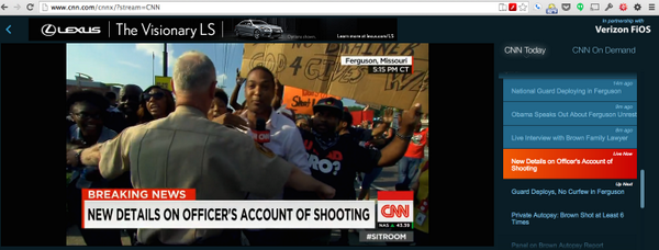 #Ferguson Police attempting to forcibly shutdown a *live* CNN broadcast. #1stAmendment http://t.co/scZAmNWWIr