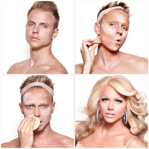 Courtney Act (@courtneyact): #makeuptransformation by Magnus Hastings http://t.co/LuNU7nmPd1