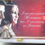 Indian Jewelry ad really misses the point with this one! #Ridiculous #india #advertising