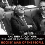 RT @WhyMrAbbott: Joe Hockey caught claiming $270 per night to stay at his own house: http://t.co/Klh3WUzMQQ #auspol http://t.co/5S98iDc3DI