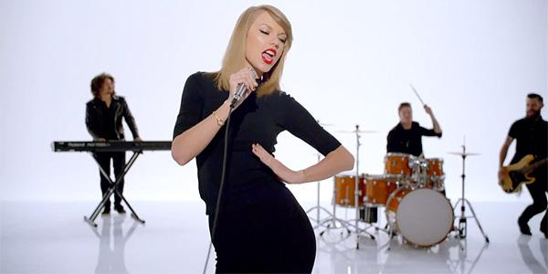 Don't mind us, just watching #ShakeItOff on repeat http://t.co/Q0IEMH0QvI @TaylorSwift13 http://t.co/MnNAd2fTfW