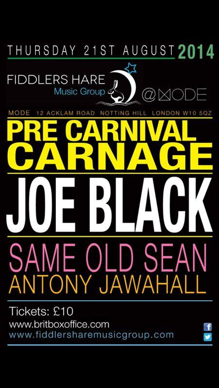 **ATTENTION** Live GIG @VoiceofMode This Thursday 21st @joeblackuk with @sameoldsean.. Gonna be a maddd thing..!! RT http://t.co/vHtcnWoa6O