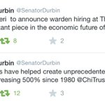 "Two ""priceless"" tweets from Dick Durbin: https://t.co/Ce021fIg7y #BooPrisonYayPrison"