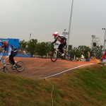 BMX is happening now! #nanjing2014 #YOGcycling @youtholympics http://t.co/HcEM2yR44a