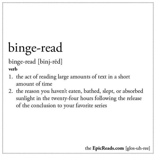 Important bookish phrases, defined by @EpicReads http://t.co/9vKl22bo42 http://t.co/7Fzdcv6lao