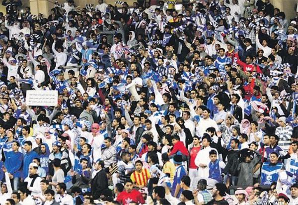 تركي الناصر السديري (@turkinsudairi): فعلاً.. الهلال يلعب خارج أرضه..وبين جماهيره! http://t.co/ItH91jgY0c