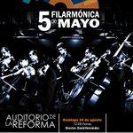 #Agenda próximo concierto de la @Filarmon5deMayo domingo 31 de agosto, 12 h. Auditorio Reforma, entrada libre #Puebla http://t.co/gsGjVuIoQI