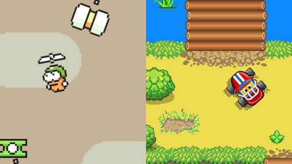 Is Swing Copters a Clone of Bog Racer? http://t.co/0e5klOfjZ6 http://t.co/FMZk5irS75