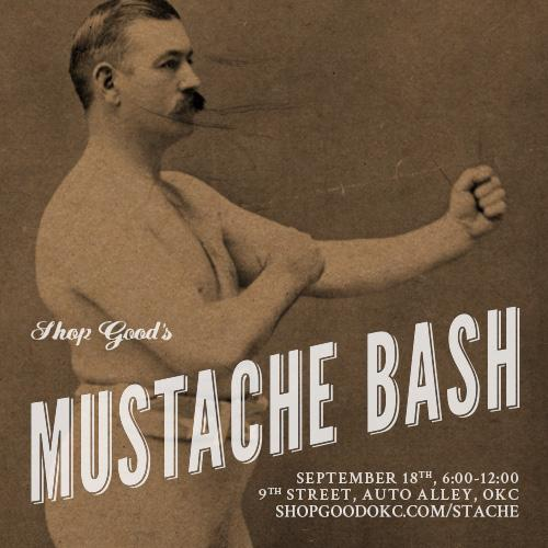 Mustache Bash '14 -- Thurs 09/18 -- 6pm to 12am. Bring your friends and get stached for a good cause. #stachebash14 http://t.co/3sqMrKokBV
