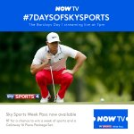 RT before 7pm for a chance to win a week of fairways and flops, plus a set of golf clubs #7daysofSkySports http://t.co/orL73MLS6l