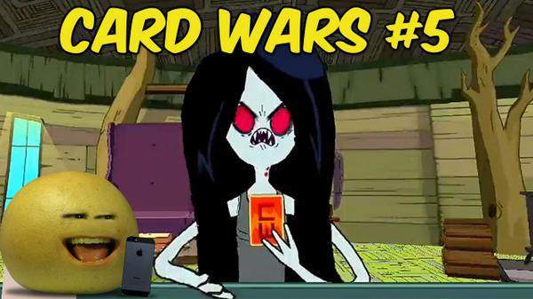 NEW GAMING VIDEOS TODAY! Wrath Of Marceline, Vampire Queen #CardWars http://t.co/T8KSgOddH6 http://t.co/sImnP6isTt