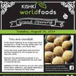 RT @KishkiWorldFood: Come on out to our #grandopening and celebrate with @KishkiWorldFood @berryonline and @peterbraid August 26 @ 6pm! http://t.co/OqLxSduMc1