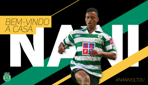 Scenes! Nani received brilliant welcome from Sporting fans after Man United loan move