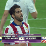 Full-time: Real Madrid 1 - 1 Atletico Madrid. The second leg takes place on Friday. http://t.co/l4qREUMOqz