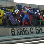 RT @olivia_solon: Russia wants Bulgarians to stop vandalizing Soviet monuments to look like superheroes: http://t.co/wqYQDtrOke http://t.co/G63vOF70Lv
