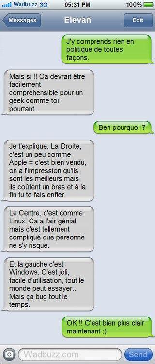 Excellent!! J'adore! RT @pierrecappelli: La #politique pour les #geeks ... ;-)  #humour http://t.co/wuZlaVoPqN