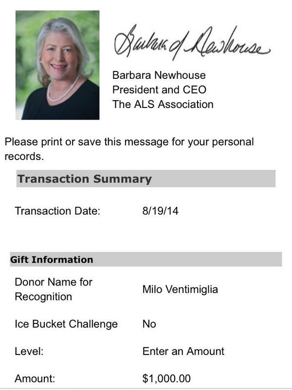 Yes!!! :) #icebucketchallenge RT @MiloVentimiglia: Here ya go @trentvanegas. MV http://t.co/XbxvKewI08