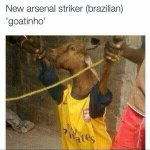 "LMAO RT @TonyJermaine: ""@soccerpaedia: Done deal. New Brazilian arsenal Striker. To be announced tomorrow. http://t.co/6bYo6Dr0kM"" ah? ????????????????"