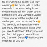 RT @MacyMartin95: I just wanna take a minute and thank Cameron Dallas for everything he has done????. @camerondallas @camerondallas http://t.co/cRCeJOpznl