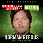 GUEST ANNOUNCEMENT – We are thrilled to announce that NORMAN REEDUS (@wwwbigbaldhead) will be joining us in #ATLANTA! http://t.co/XH2LasuPrC
