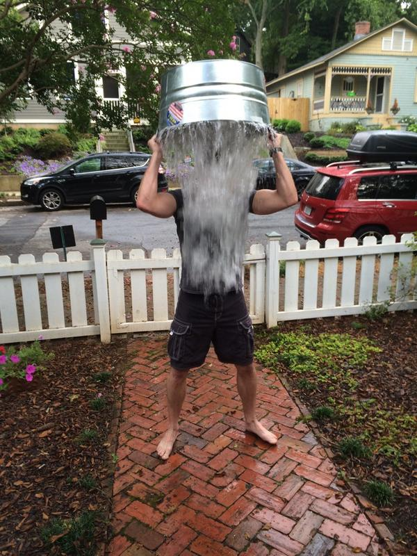 ALS ice bucket challenge accepted from Kaden Rizzo. I reckon do the challenge AND donate.  #ALSIceBucketChallenge http://t.co/LkyrPuNOAE