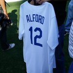 Cool #Dodgers jersey for @UCLACoachAlford http://t.co/rifuL7tNeH