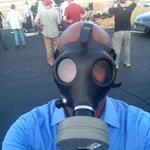 #Ferguson=no joke. Peeps at @CNN handed me THIS before I even got a mic on. #GasMasks for reporters -- in USA? Yup. http://t.co/aUXA8VaudP