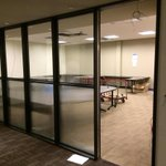 The second floor classrooms of #Marists Lowell Thomas Communications Center are taking shape. Is this one mine? http://t.co/73l1375GBw