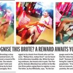 RT @SaritaTanwar: 1 lakh reward to find this man who held and kicked this dog mercilessly. Do it 4 the money/because you have a heart. https://t.co/0v8yrvD3Pb