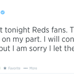 RT @MLBONFOX: Very classy move by @JJ_Hoover. #Reds http://t.co/baPoLAZ5IY