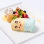ふなっしーカフェのデザートプレート可愛い https://t.co/AOFnZdAeX8