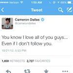 RT @ashrossi2013: Throw back to @camerondallas tweet 2 years ago we still love even if we dont have a follow???????? http://t.co/TTP5KBFNWe