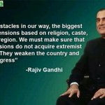 We must take India forward: Rajiv #RememberingRajiv http://t.co/Io4KA8h4YY