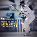 RT @rajasthanroyals: Every team needs a saviour, we had ours - Rahul Dravid. Always standing tall, Indias wall. #CelebratingRahulDravid http://t.co/eXPxn6JwTN