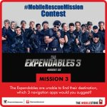 #MobileRescueMission #Contest - Mission 3 Answer in different tweets & you can win #TheExpendables3 movie vouchers. http://t.co/quBsK90HLt