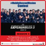 #MobileRescueMission #Contest - Mission 4 Answer in different tweets & you can win #TheExpendables3 movie vouchers. http://t.co/80Hwjf6UGs