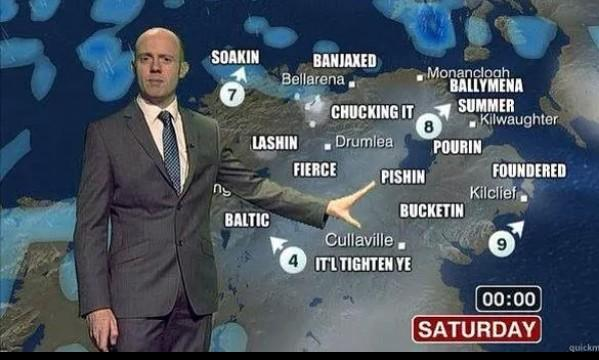 So how's the weather in Belfast? http://t.co/y69gpTEuWv