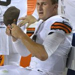 RT @nypostsports: Call him Johnny Bench-ed for now: #Browns to start Hoyer over Manziel http://t.co/rHG7NkVWKK http://t.co/rNXk2nGFhj