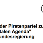 "RT @Piratenpartei: Positionen der #Piratenpartei zur ""Digitalen Agenda"" der #Bundesregierung (PDF) /as https://t.co/wRfxU3bjw0 http://t.co/vZf3aRlXsu"
